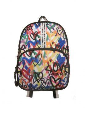 J Sport Graffiti Dome Mini Backpack