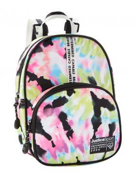 Sporty Dome Tie Dye Mini Backpack