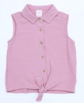 Rose Tye Sleeveless Camise