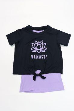 Namaste 2fer Tee
