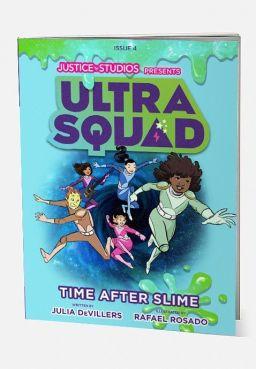Ultra Squad Time After Slime Graphic Novel