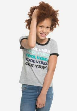 Cool Vibes Ringer Tee