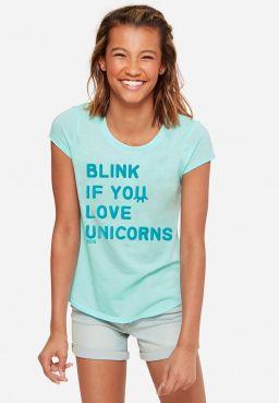 Blink If you Love Unicorns Graphic Tee