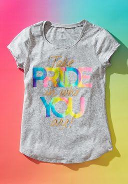Pride Foil Graphic Tee