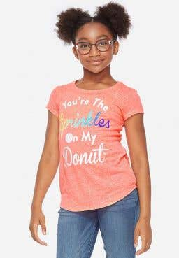 Sprinkles On My Donut Graphic Tee store test hold