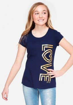 Love Foil Graphic Tee