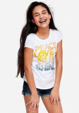 Peace Love & Sunshine Graphic Tee