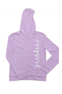Lilac Zip Hoodie