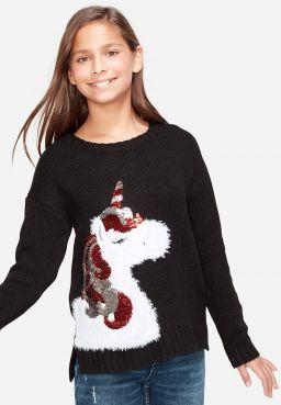 Holiday Unicorn Sweater