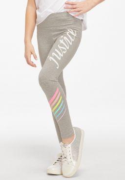 Logo Stripe Leggings