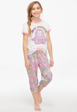Stay Positive Pajama Set
