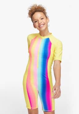 Rainbow Gradation Bodysuit