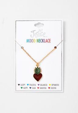Pineapple Mood Pendant Necklace