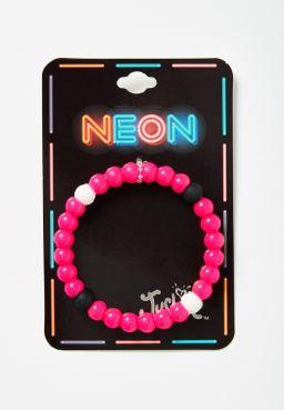 Elements Neon Beaded Silicone Bracelet