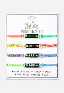 Rainbow BFF Stretch Bracelet - 4 Pack