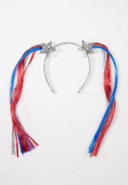 Patriotic Pigtails Headband