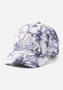 Tie Dye Holo Initial Baseball Cap