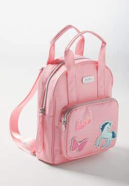 Pink Patch Mini Backpack