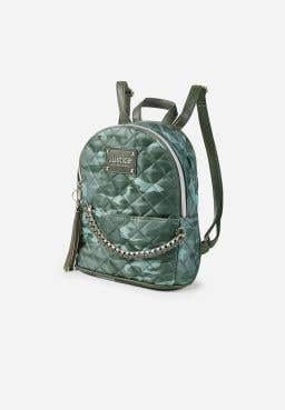 Camo Quilted Mini Backpack