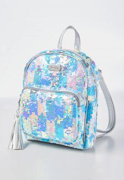 Flip Sequin Squares Mini Backpack