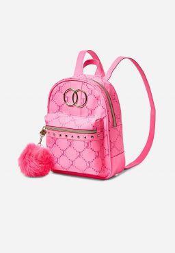 Justice Signature Pink Mini Backpack