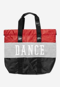 Dance Colorblock Backpack Tote