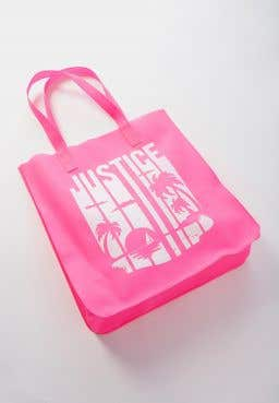 Logo Sunset Color Changing Pool Tote