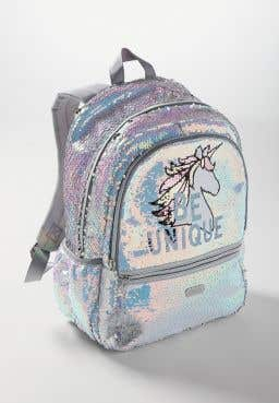 Be Unique Flip Sequin Backpack