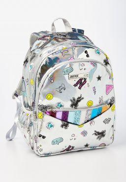 Holo Sticker Pocket Backpack & Wristlet