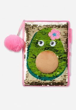 Avocado Flip Sequin Journal