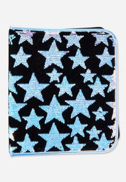Star Velvet & Flip Sequin Binder