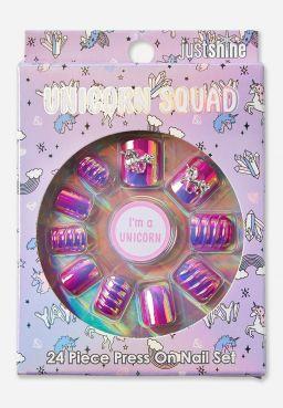 Just Shine Unicorn Squad Press On Nails