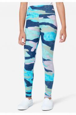 Patterned Full-Length Leggings