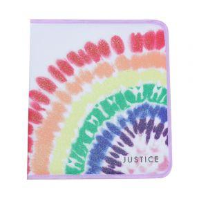 Rainbow Tie Dye 2 Inch Zipper Binder