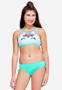 Unicorn High Neck Bikini