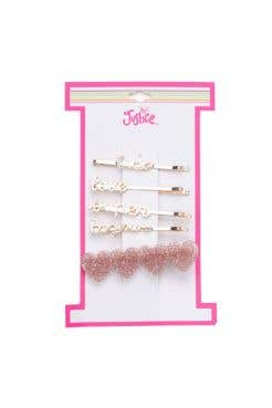Everyday Fave Hair 5 Pack Heart Love Bobby Pin Hair Accessories