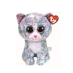 Boos Flippables Whimsy Blue Cat