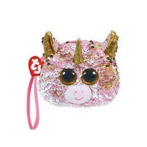 Beanie Boos Sequins Wristlet Fantasia - Unicorn