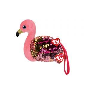 Beanie Boos Sequins Wristlet Gilda - Flamingo