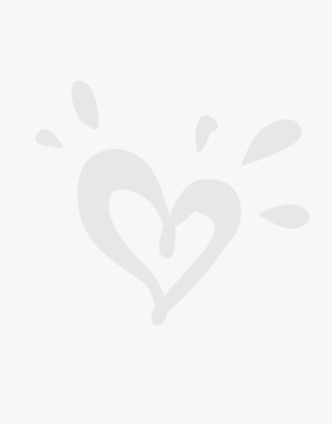 Foil Print Skater Skirt
