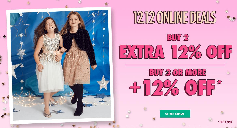 justice, december, holiday, unicorn, 12.12, promo, discount, sale