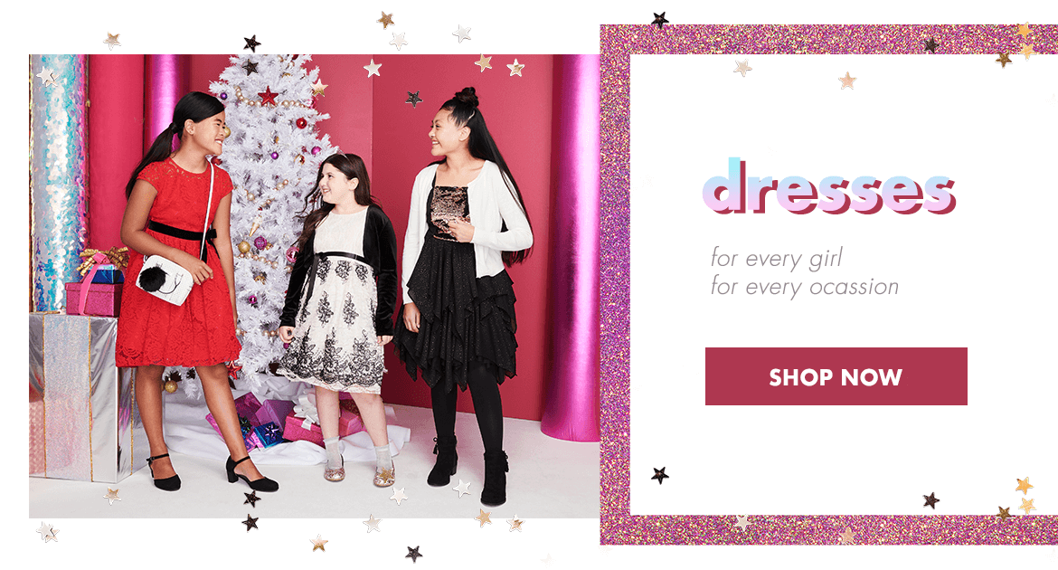 justice, dress, dresses, christmas, holiday