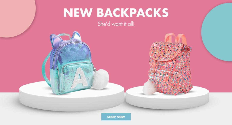 justice, bags, backpacks, mini mini backpack, rucksack