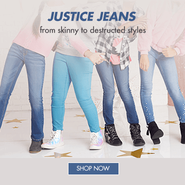 jeans, justice, justice indonesia, skinny jeans, destructed jeans