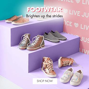 footwear, shoes, justice, sneakers, slippers