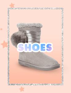 justice, shoes, footwear, sneakers, sandals