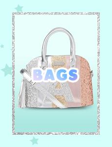 bags, backpacks, unicorn, mermaid, mini backpack, justice bags, justice backpacks, justice, justice indonesia, shopjustice