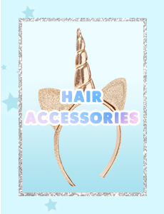 hair accessories, accessories, justice accessories