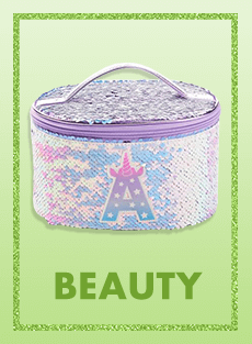 beauty, pouch, nail decors, justice, justice indonesia, shopjustice
