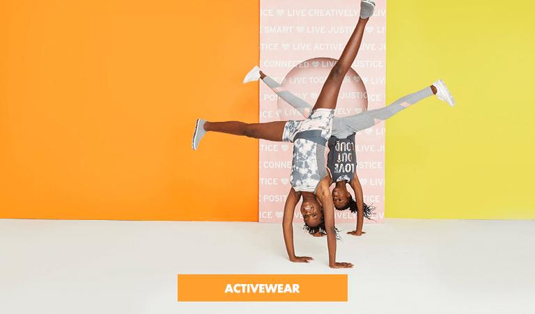activewear, gymnastic, leggings, tees, justice, justice tweens, shopjustice, justice indonesi